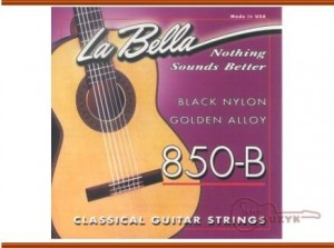 Struny La Bella 850- B black nylon
