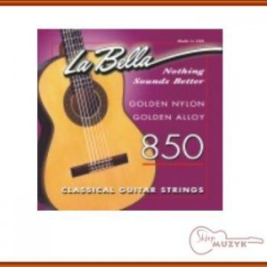 Struny La Bella 850 golden nylon
