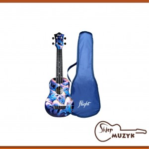 Ukulele sopranowe Flight TUS40 GRAFFITI